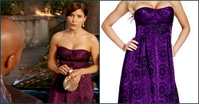 Sweet Silver Lining Fashion Of One Tree Hill Brooke Davis