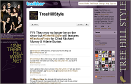 FOLLOW US ON TWITTER: @TreeHillStyle